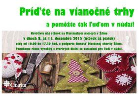 Príďte na vianočné trhy v Žiline
