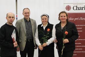 Ocenení zamestnanci Diecéznej charity Žilina
