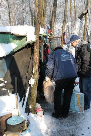 pomoc pre ľudí bez domova v mrazoch
