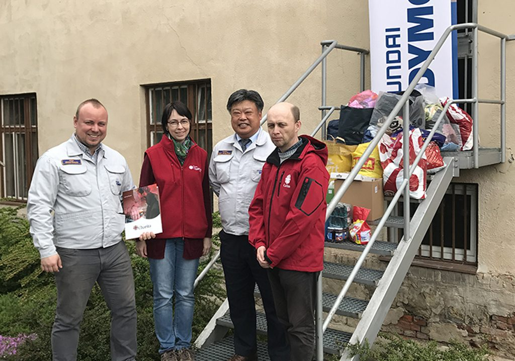 Ďakujeme Hyundai Dymos Slovakia s.r.o.