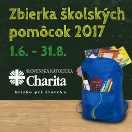 Zbierka školských pomôcok 2017