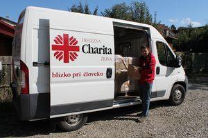 Pokračujeme v distribúcii potravinovej pomoci