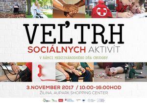 Veľtrh sociálnych aktivít v Žiline