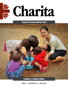posledné číslo magazínu Charita.